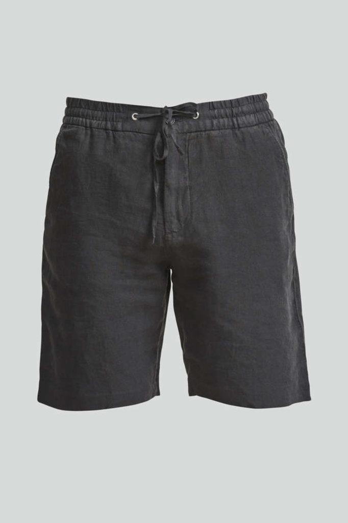 nn07 seb 1235 shorts linen - dark grey