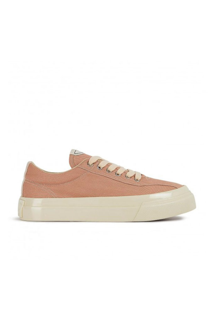 stepney workers club dellow m canvas sneaker - spring pink