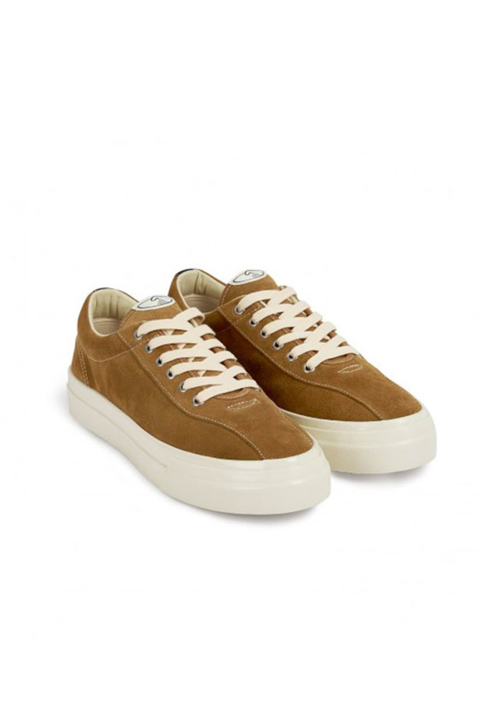 stepney workers club dellow m suede snaker - taupe
