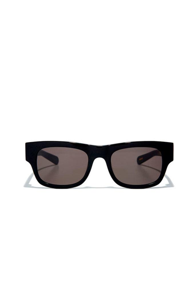 Flatlist flat sunglasses - solid black