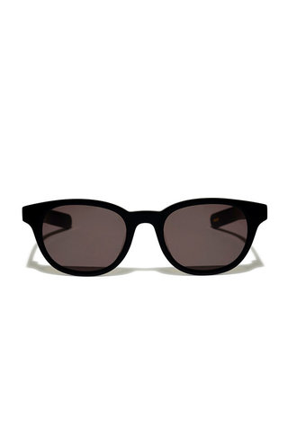 Flatlist logic sunglasses - solid black
