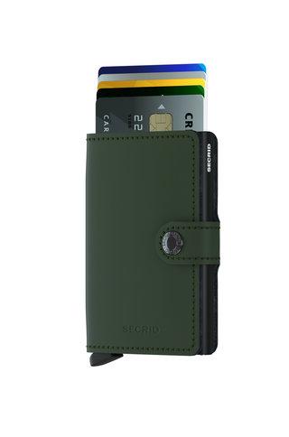 secrid miniwallet - green black