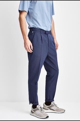 bronx pants - mid blue navy