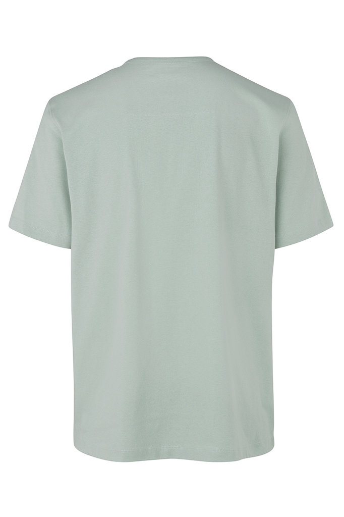 samsoe samsoe hugo 11415 ss tshirt frosty green