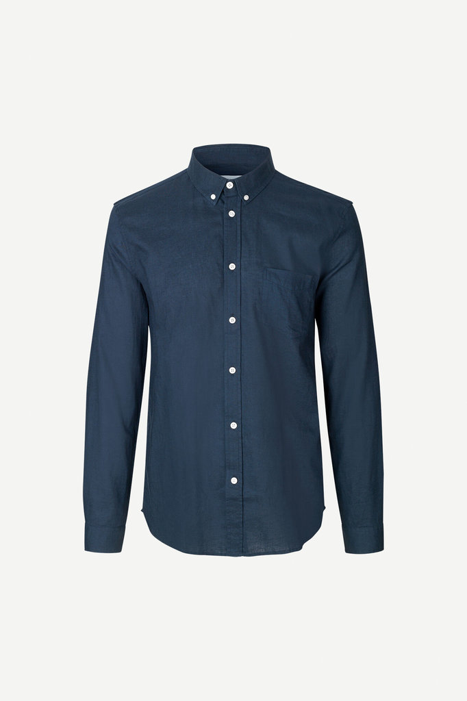 samsoe samsoe liam ba 6971 shirt night sky