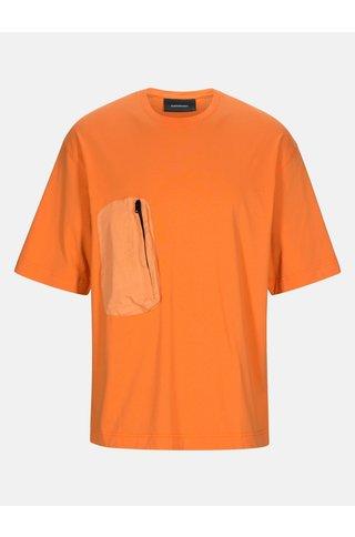 Peak Performance comb t-shirt - orange dune