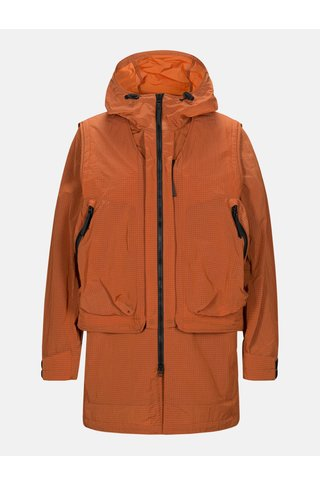 Peak Performance x.13 comb jacket - orange dune