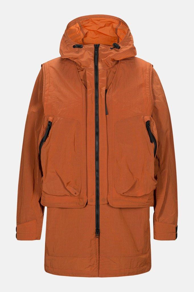 Peak Performance x.13 comb jacket - orange dune