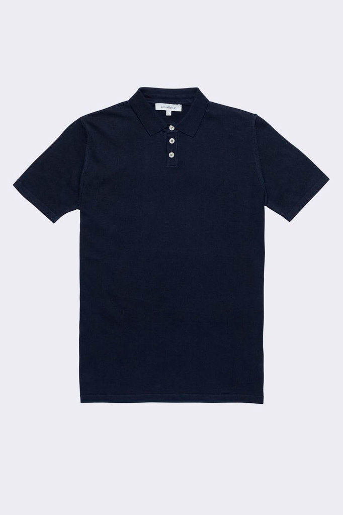 the Goodpeople plan polo navy