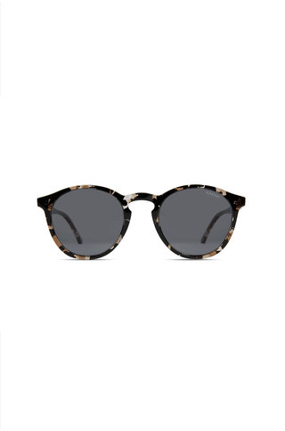 Komono aston sunglasses clear demi