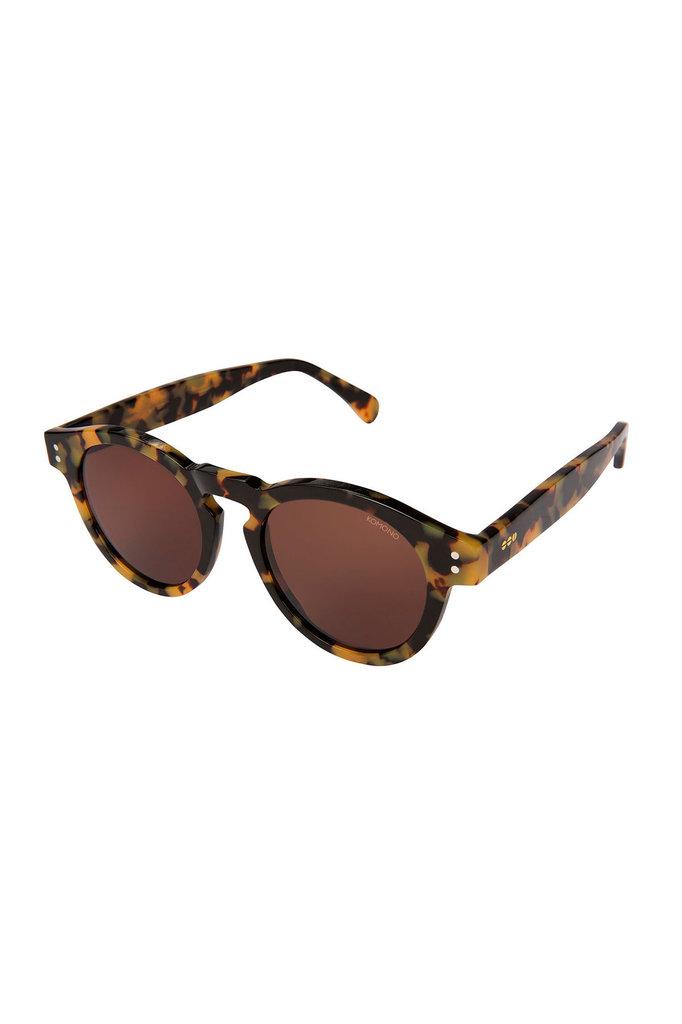 Komono clement sunglasses tortoise demi