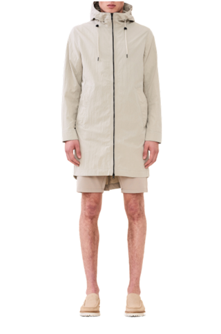 jestro jacket - white moss