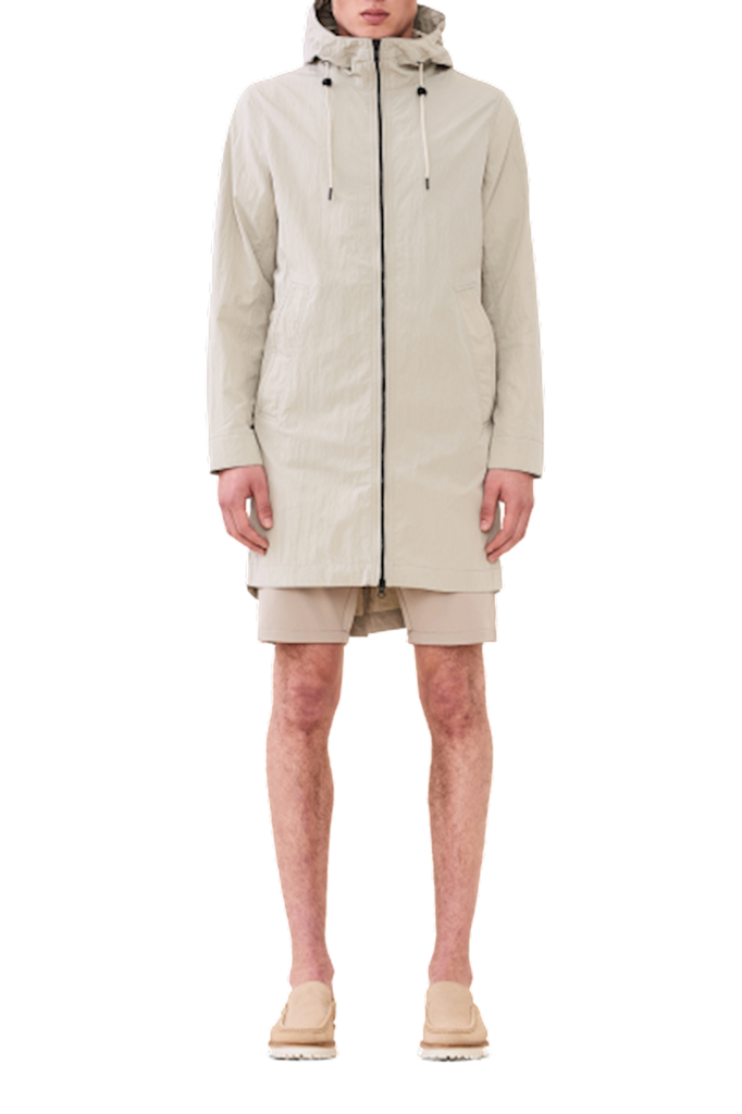 jestro jacket - white moss