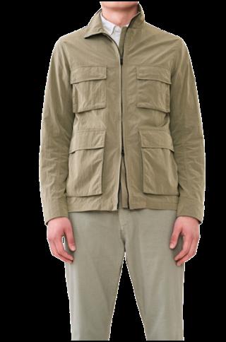elvine travis jacket - dark sage