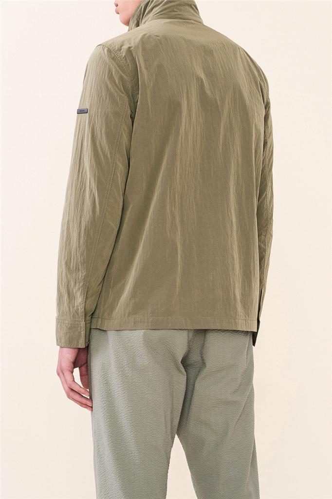 travis jacket - dark sage