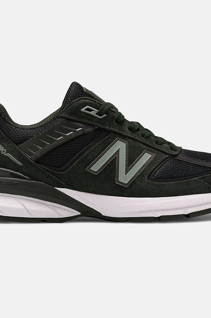 new balance 990 v5 sneaker - defense green