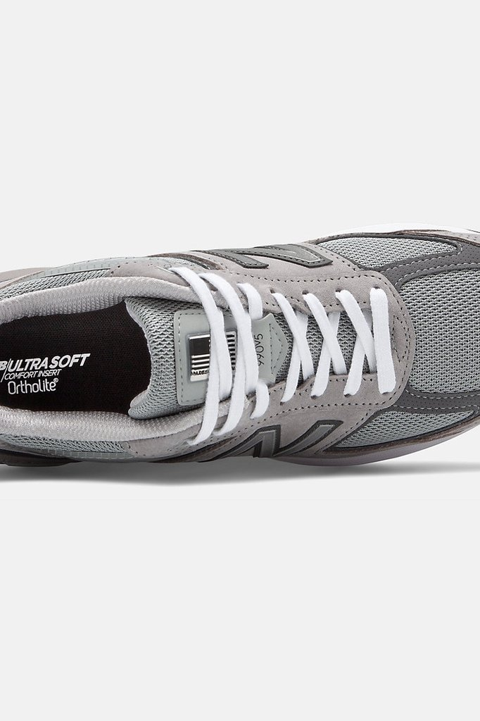 new balance 990 v5 sneaker - grey