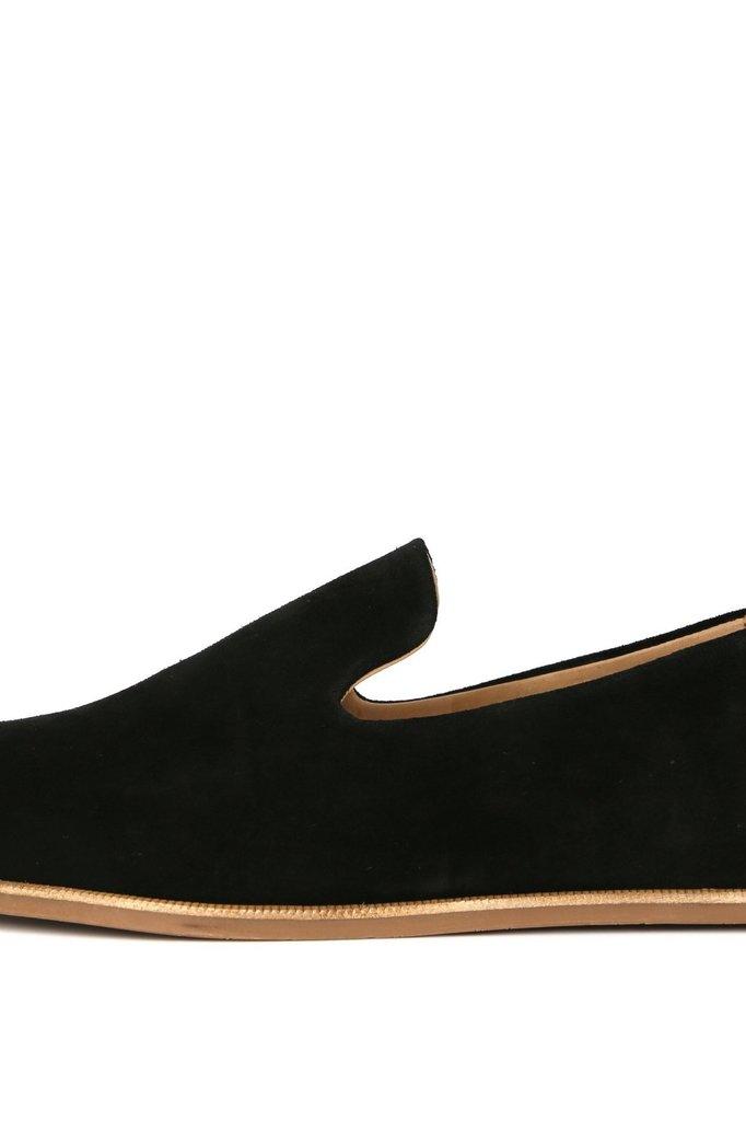 royal republiq evo suede loafer - black