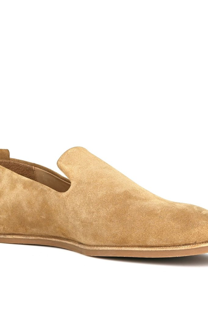 royal republiq evo suede loafer - camel