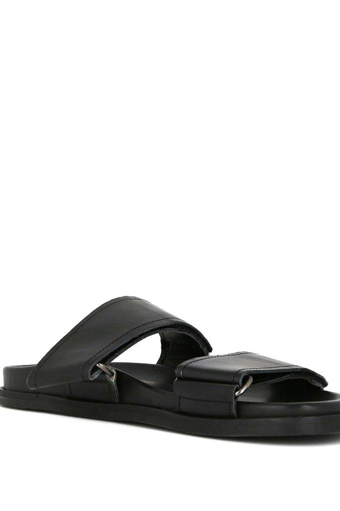 royal republiq route strap sandal - black