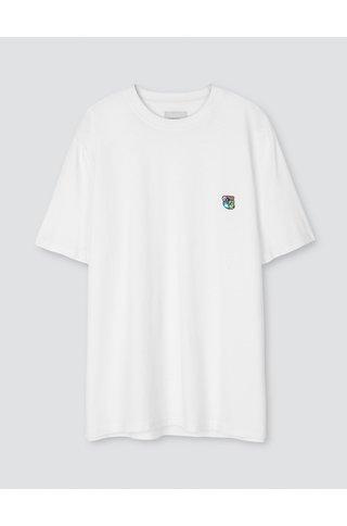 tonsure frank t-shirt - white