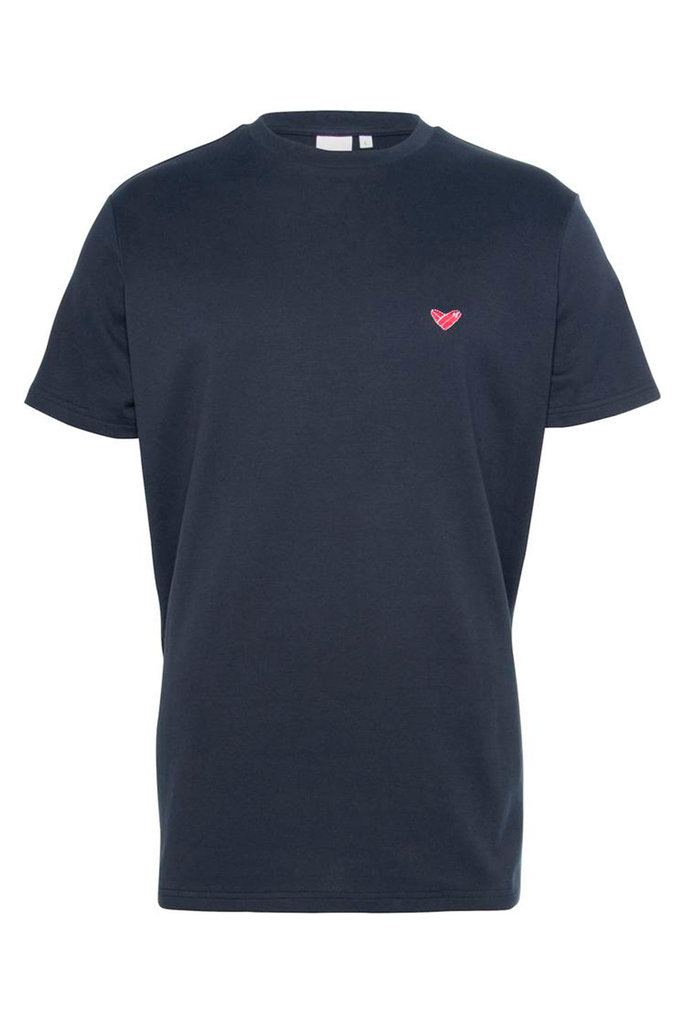 rock tshirt maritime blue