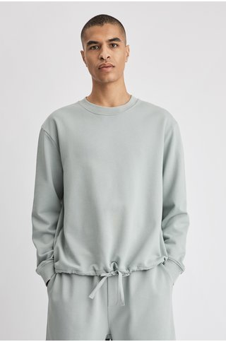 filippa k felix sweater - green fog