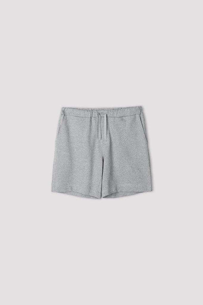 filippa k felix short - grey melange