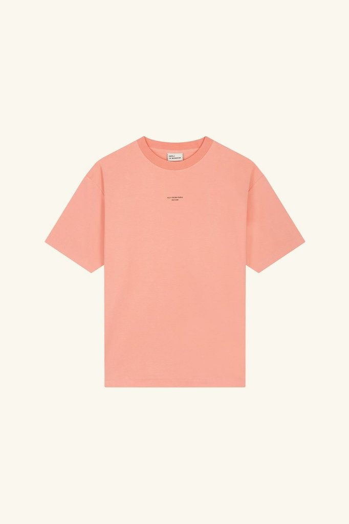 drôle de monsieur not from paris madame t-shirt - pink