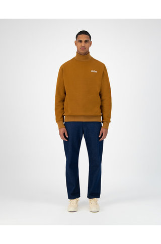 arte carter sweater - brown
