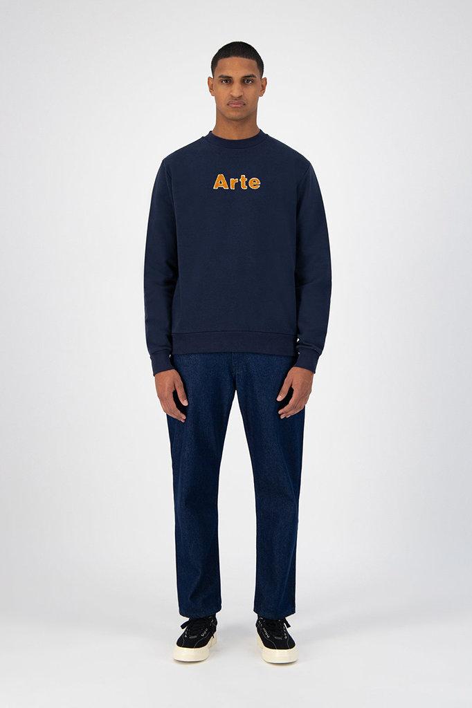 arte chris sweater - navy