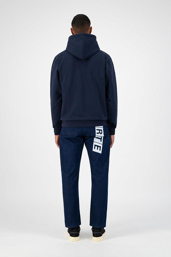 arte hans hoodie - navy