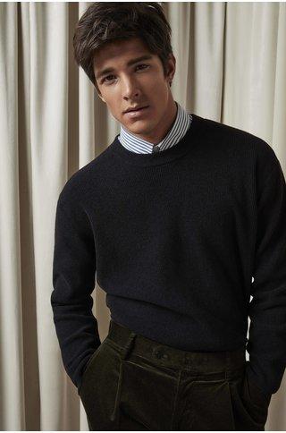 nn07 danny 6429 knit - black