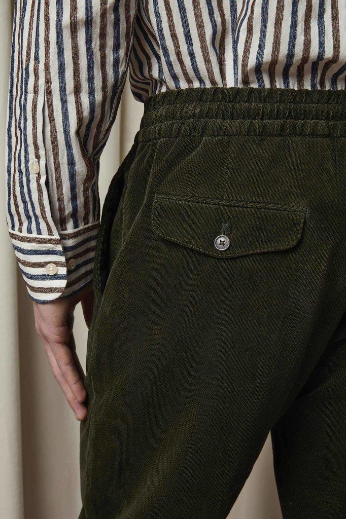 nn07 foss 1427 pants - navy blue