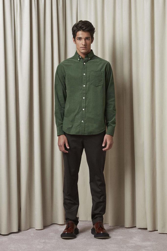 nn07 levon bd 5723 shirt - bottle green