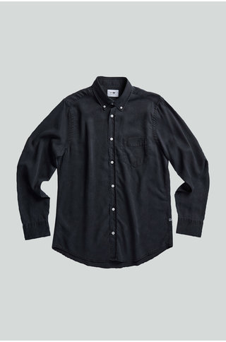 nn07 manza slim 5767 shirt - black