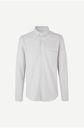 samsoe samsoe liam nf 7383 shirt - wind chime melange