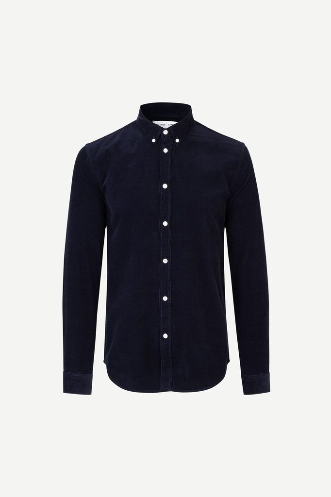 samsoe samsoe liam bx 10504 shirt - night sky