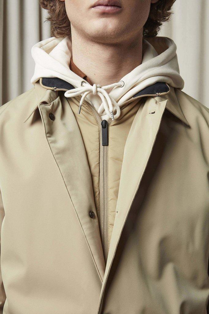 nn07 blake 8240 coat - khaki