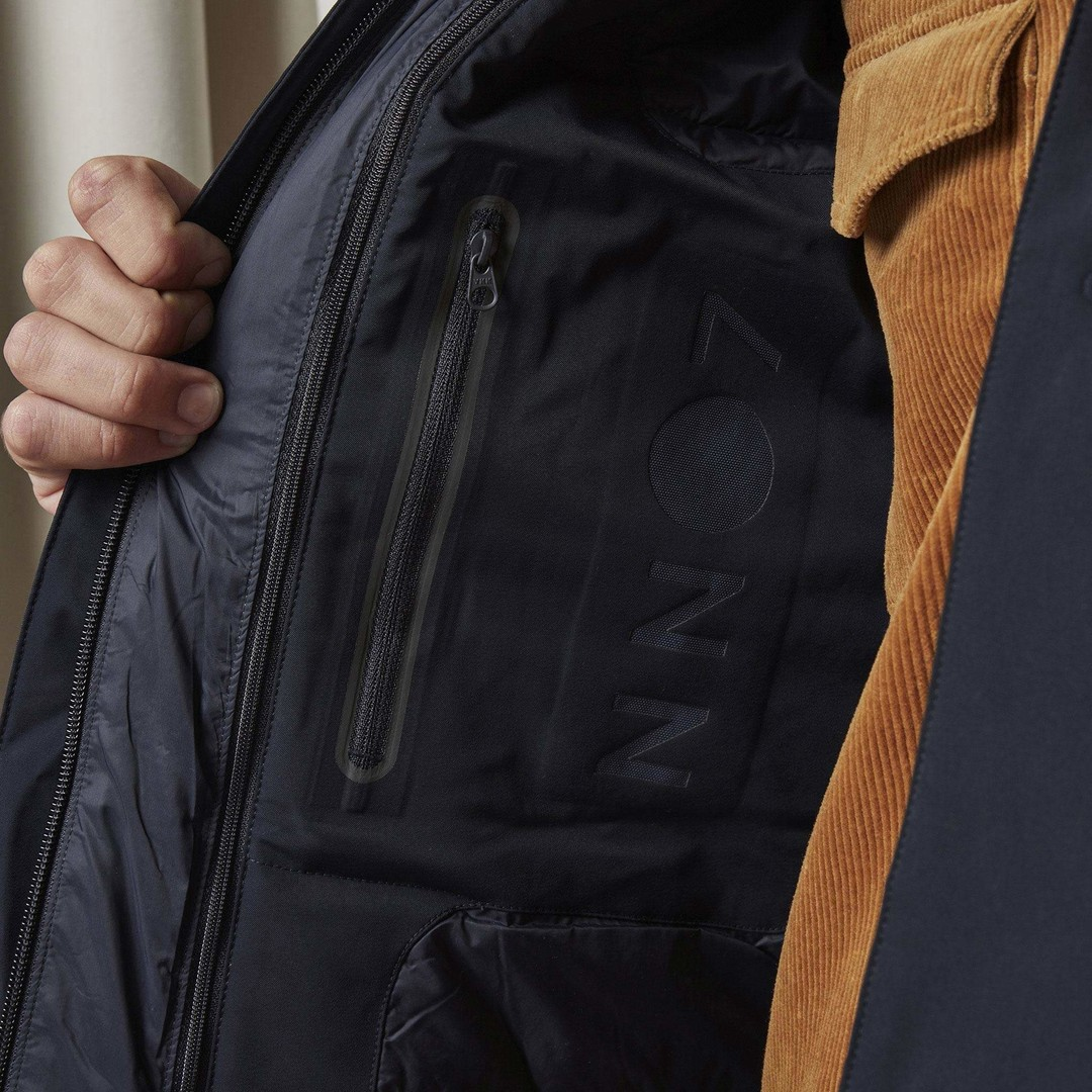 nn07 blake 8240 coat - navy blue