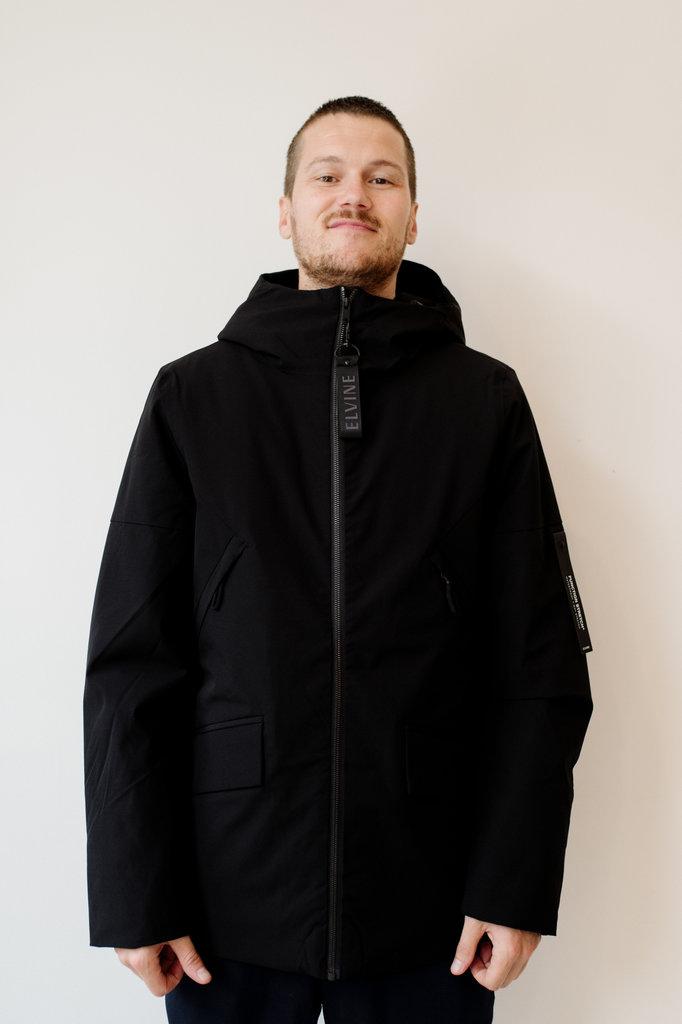 elvine cole jacket - black
