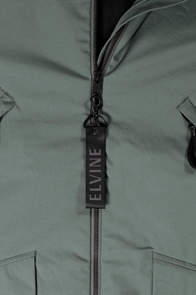 elvine cole jacket - faded green