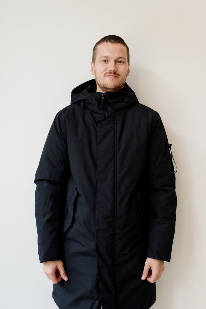 elvine  gunter jacket - dark navy