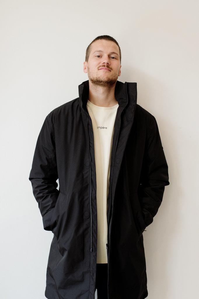 elvine prescott jacket - black
