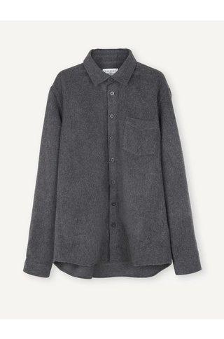 Libertine Libertine miracle shirt - dark grey melange