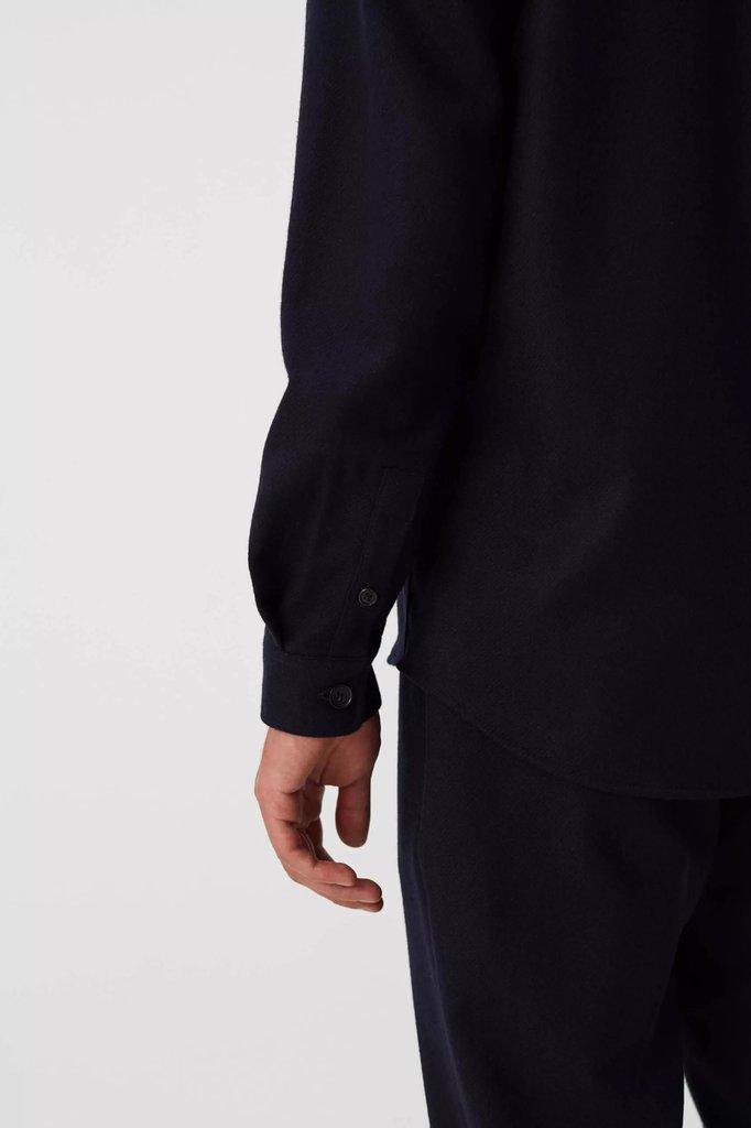 Libertine Libertine miracle shirt - dark navy twill