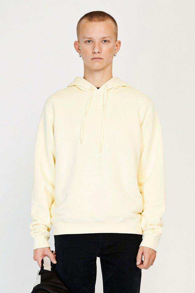 won hundred luke hoodie - seedpearl white