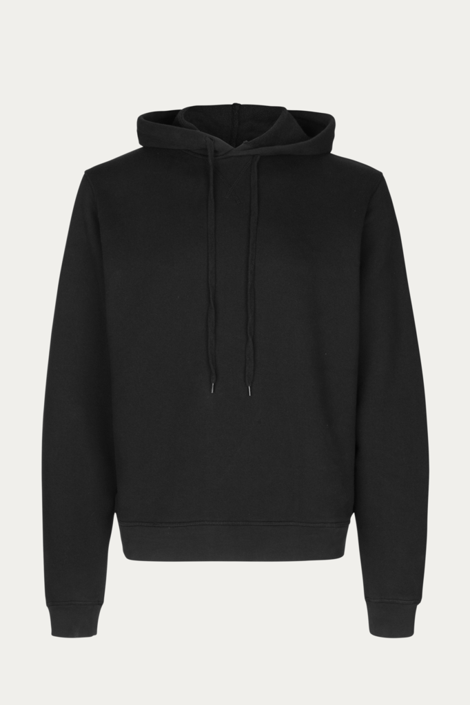 won hundred luke hoodie - black