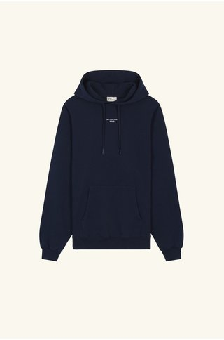 drôle de monsieur nfpm classic hoodie - navy