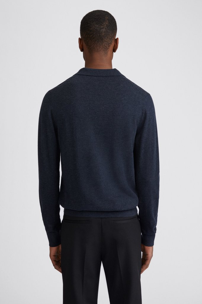 filippa k lars sweat - dark navy